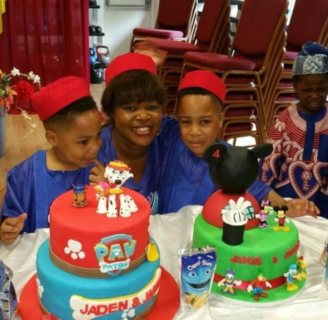 6 Nigerian celebrities with the most adorable twin children