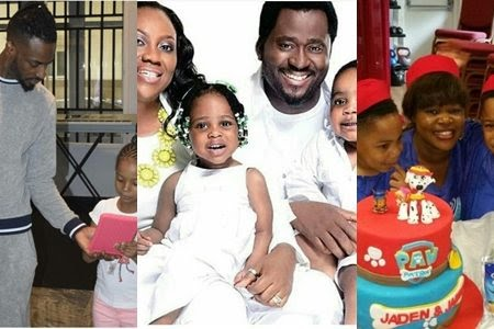 The 6 Nigerian celebrities with the most adorable twin children