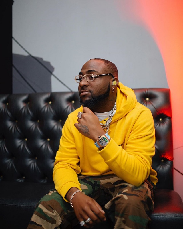 Davido's Hits Single 'Fall' Gets Gold Certified In America