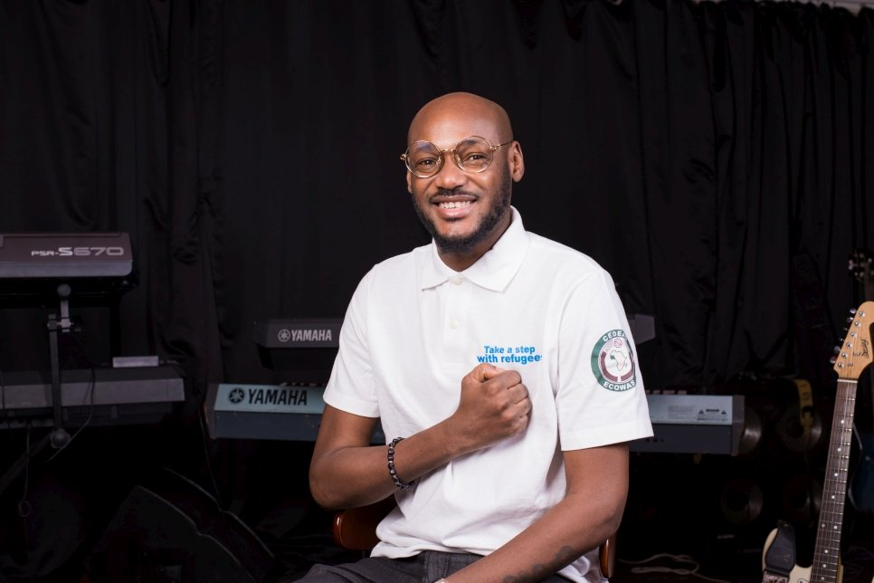 2Baba appointed new UNHCR goodwill ambassador