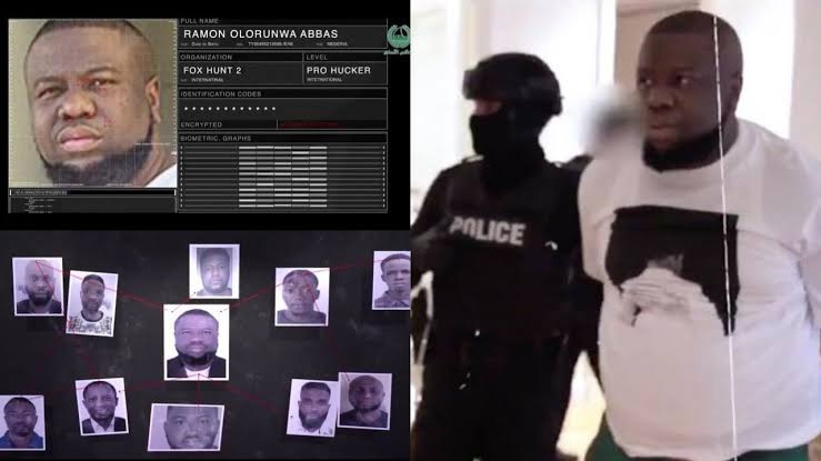 Dubai police release video showing how Hushpuppi and others were arrested in an operation
