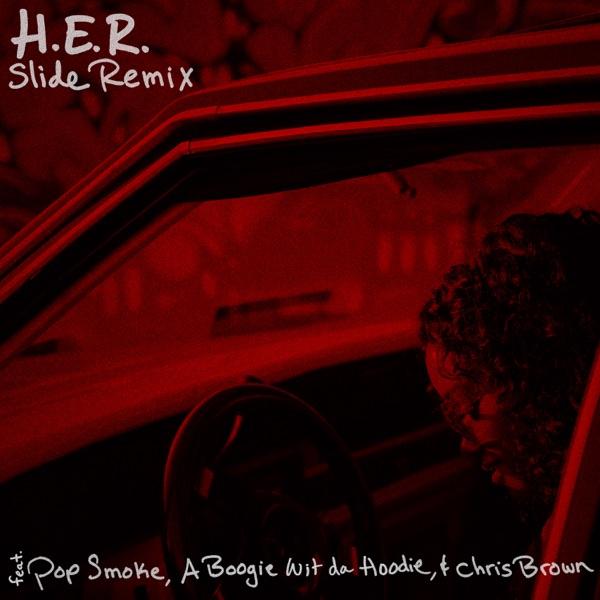 Download Mp3 H E R Ft Pop Smoke A Boogie Wit Da Hoodie Chris Brown Slide Remix Swiftloaded