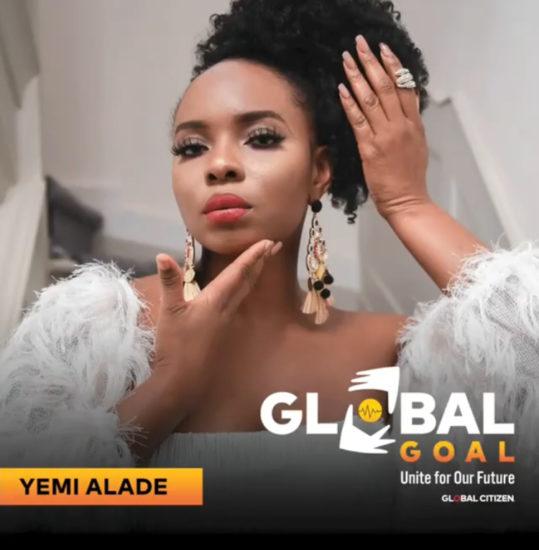 Yemi Alade to perform alongside Shakira, Justin Beiber at 2020 Global Goal Concert