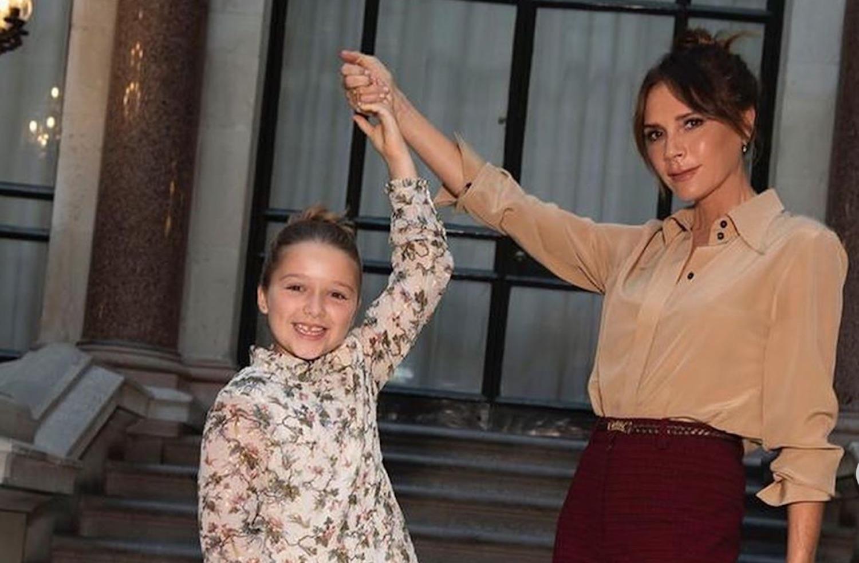 Victoria Beckham's Daughter Has Taken Over Her Office