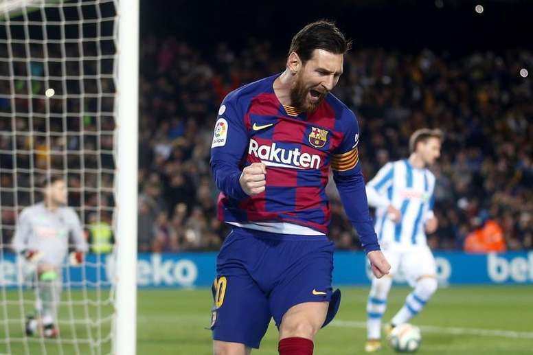 Messi To Stay At Barca Until At Least 2021
