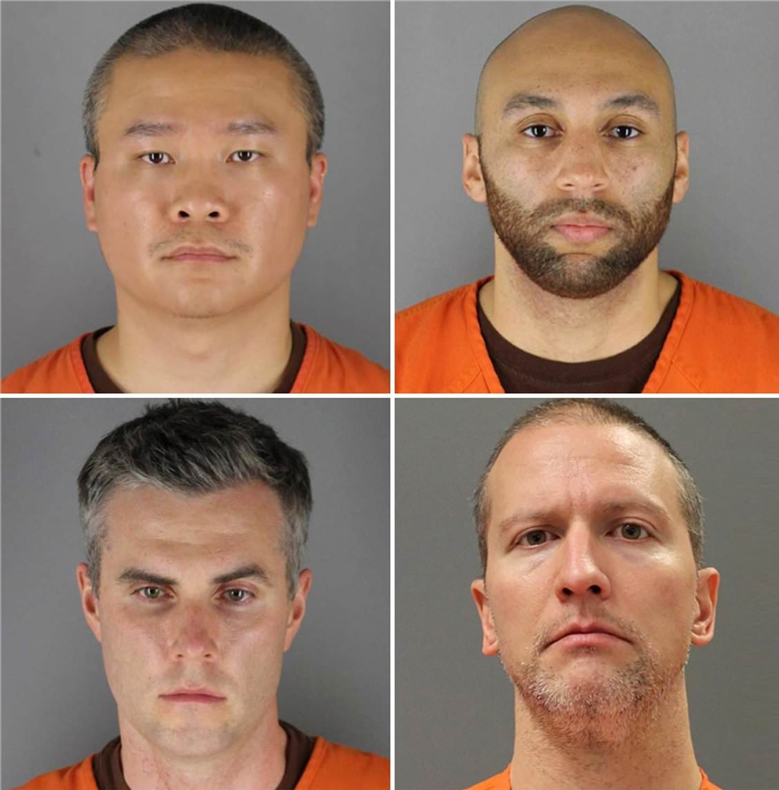4 Minneapolis officers now charged in George Floyd's death; Mugshots released