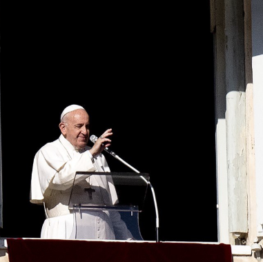 Pope Francis reacts to the death of George Floyd