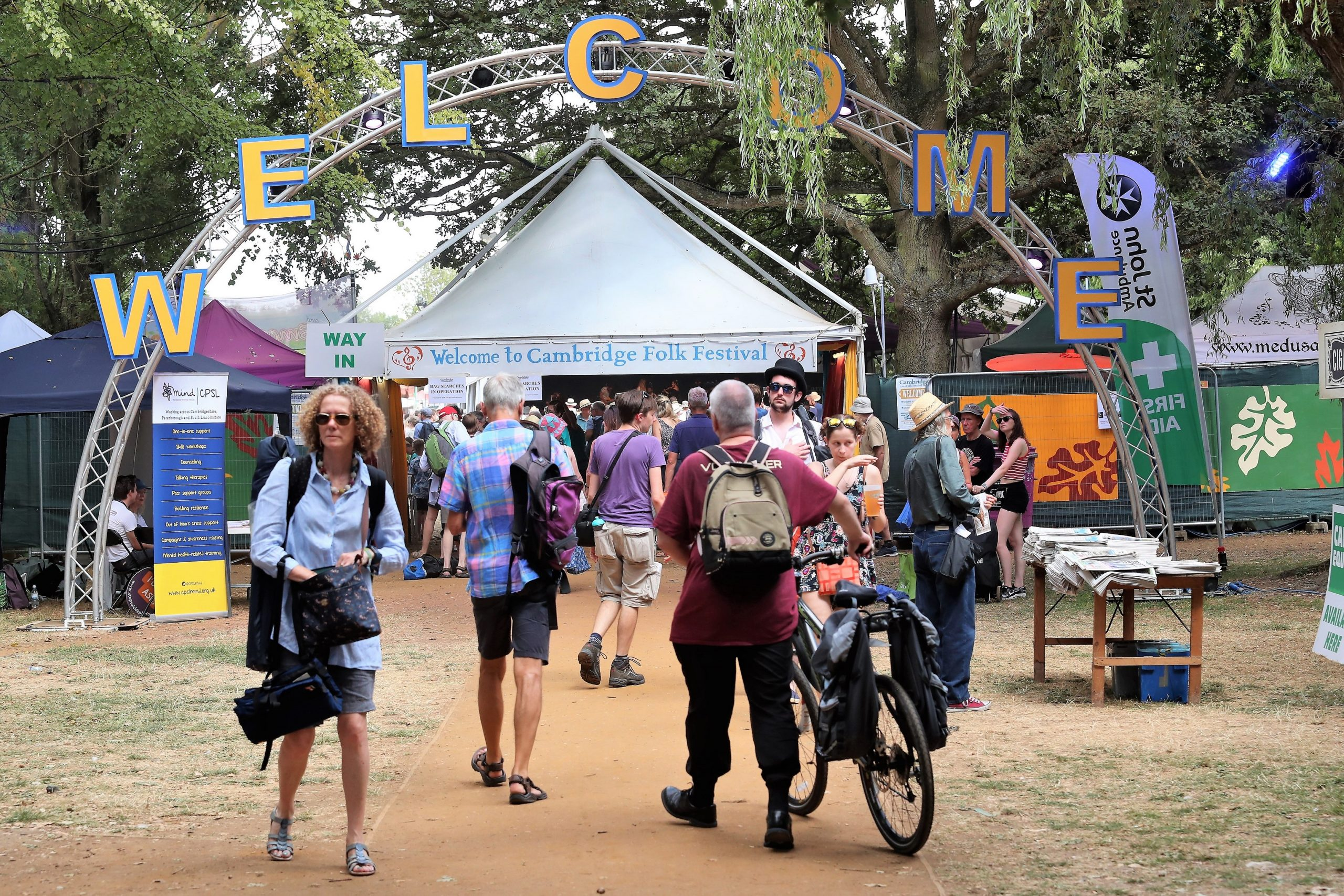 Cambridge Folk Festival At Home 2020 Will Be Taking Place At The End Of The Month