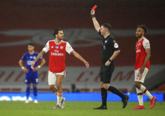 Arsenal Have Decided To Appeal The Red Card Shown To Eddie Nketiah