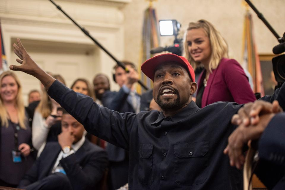 Kanye West Says He Is Anti-Abortion And Anti-Vaccination In Presidential Bid