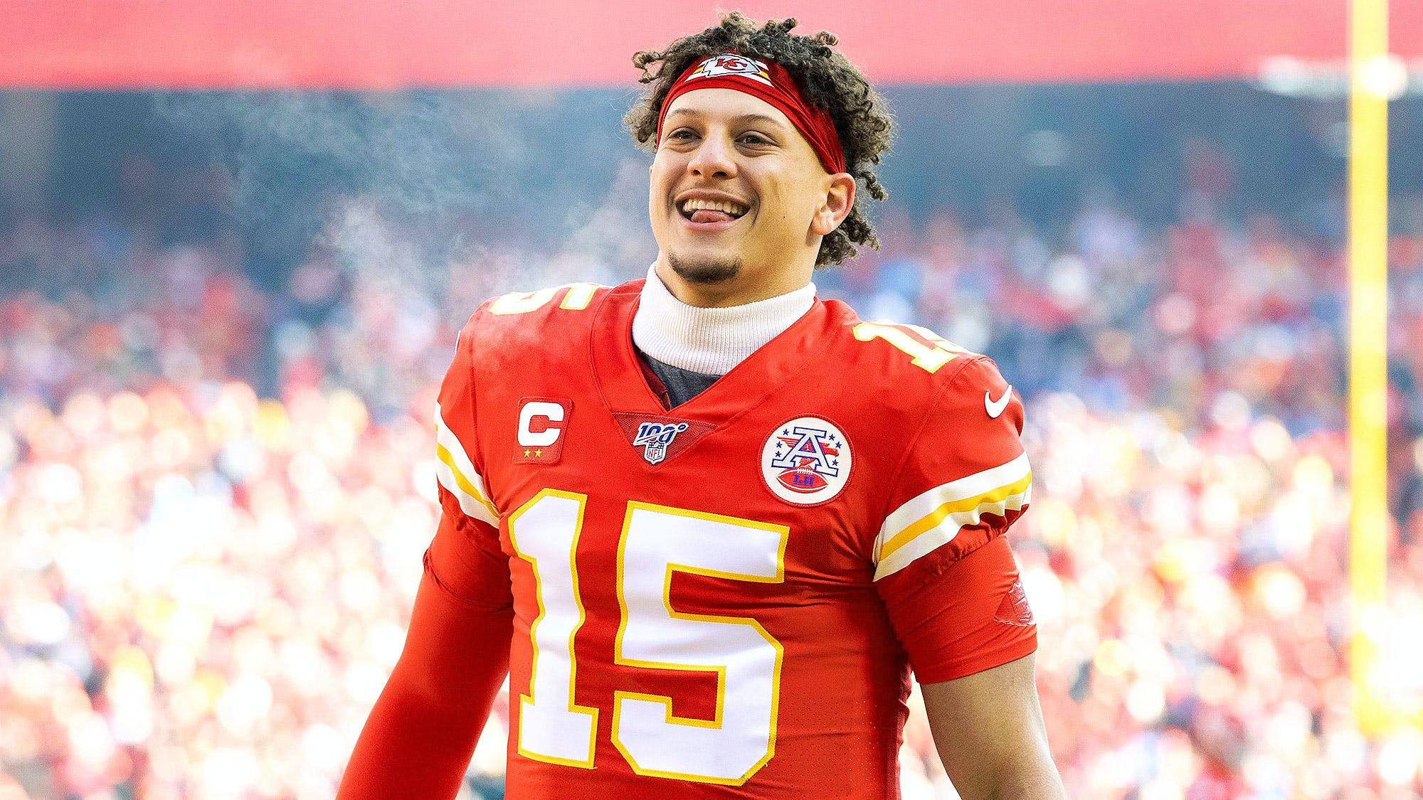 Super Bowl Mvp, Patrick Mahomes 'Signs 10-Year Extension With The Kansas Chiefs Worth $450 Million, The Richest Deal In Sports History