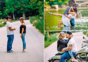 Photographer sets up blind date photoshoot between man and woman who were meeting for first time