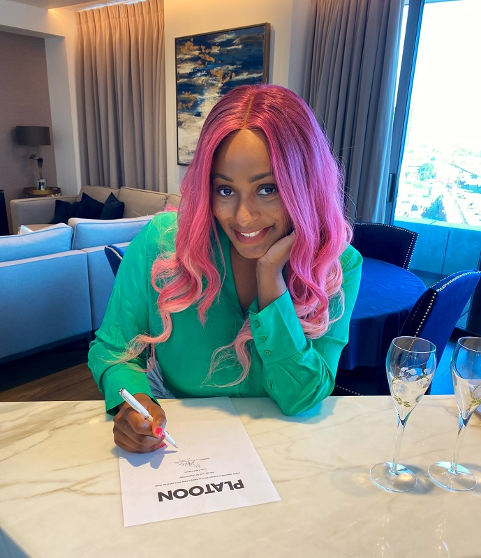 DJ Cuppy signs recording deal with Platoon records