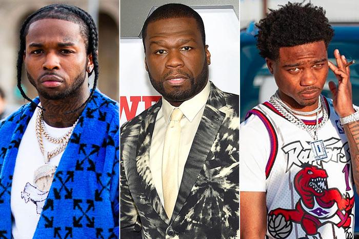 Pop Smoke, 50 Cent & Roddy Ricch – The Woo