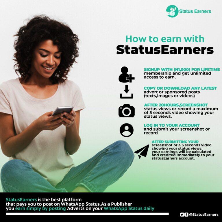 How To Earn On Status Earners