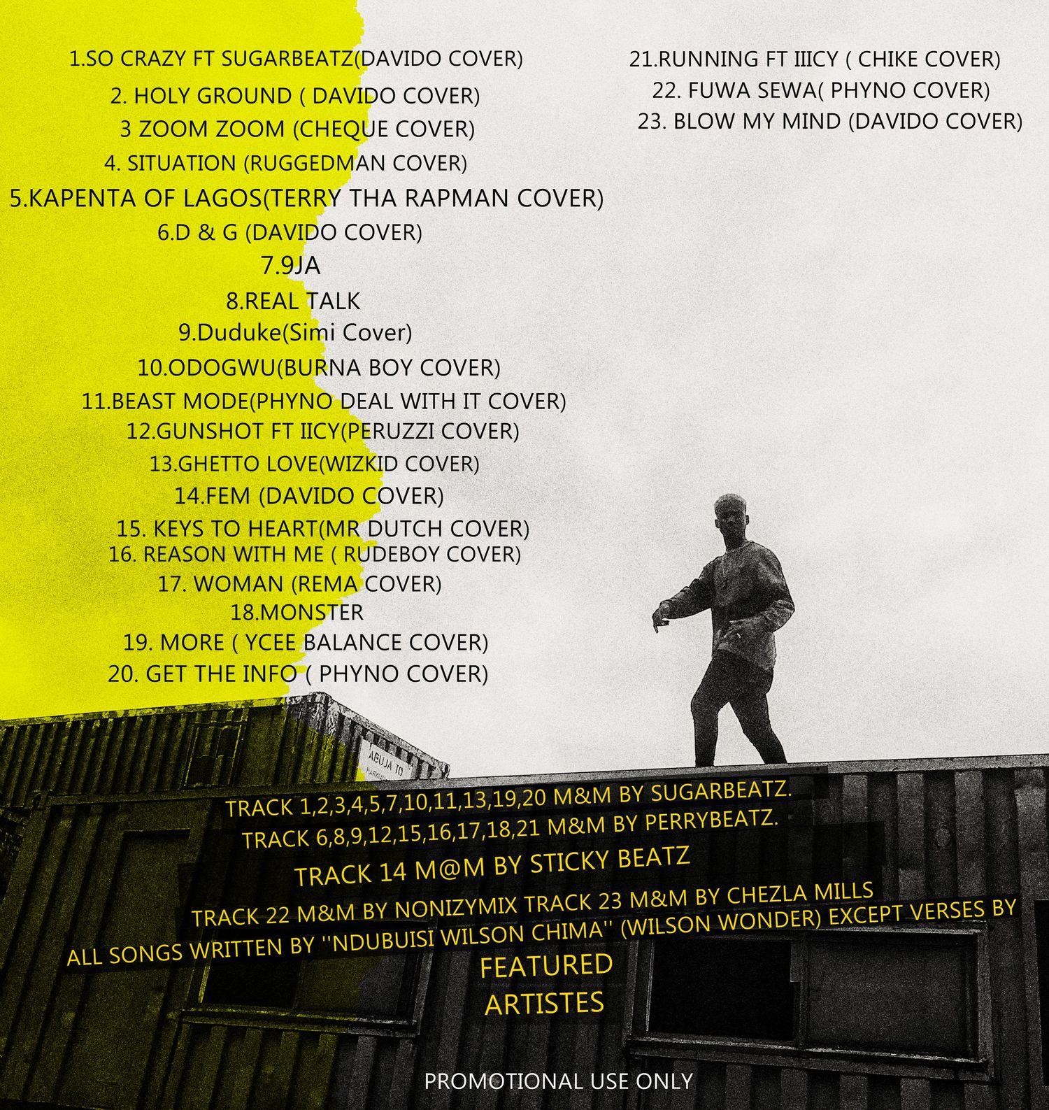 Wilson Wonder – Swaggu Season Vol. 1 Tracklist